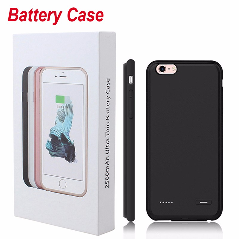 info for aa217 fe84a 7 7 Plus Charger Case For iPhone 6 6S 7 Plus Battery Case Power Bank Pack  Phone Cover Ultra Thin Slim Backup External Portable